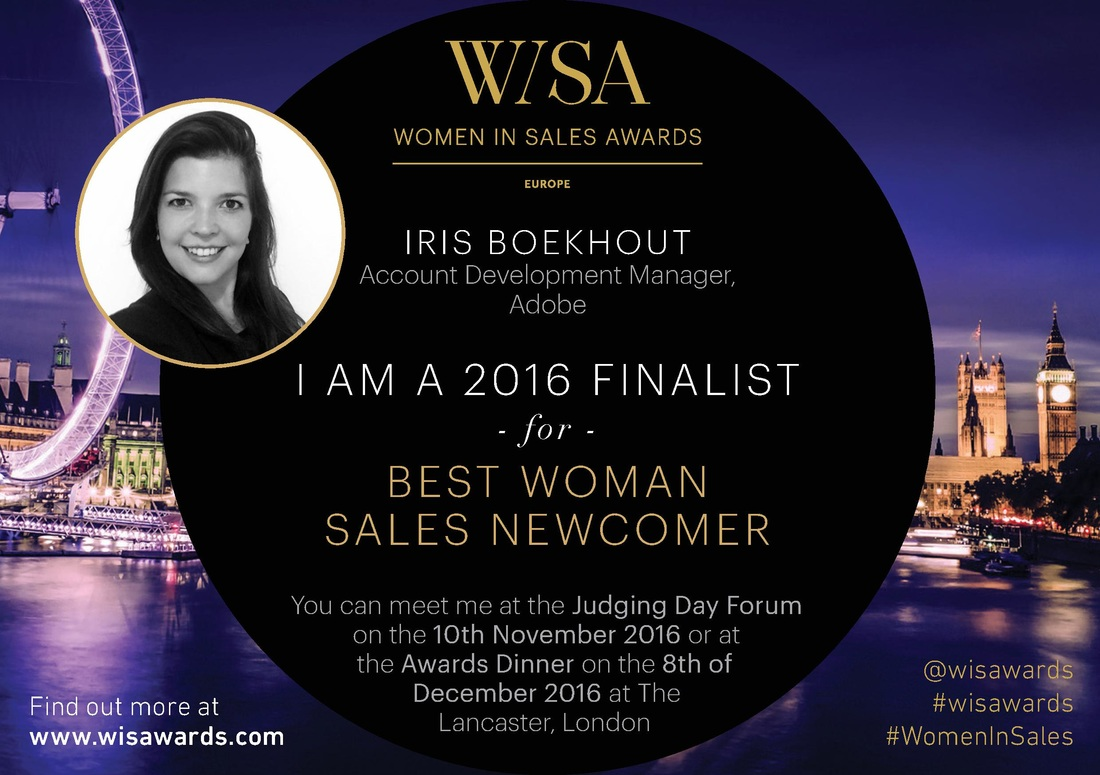 2016 FINALISTS   Women In Sales Awards