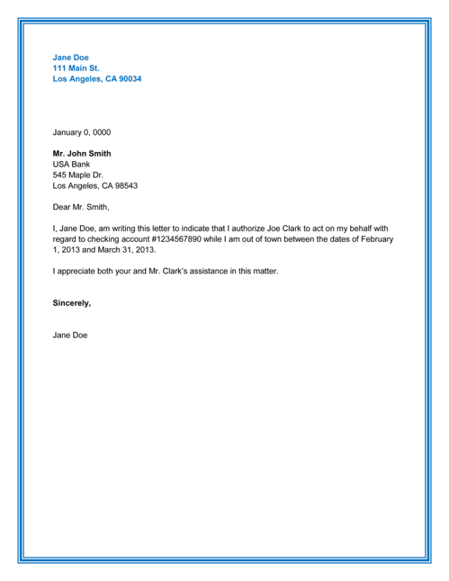 25+ Best Authorization Letter Samples (Formats & Templates)
