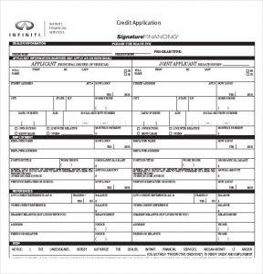 auto credit application pdf charlotte clergy coalition