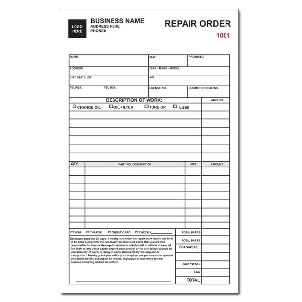 automotive repair order   April.onthemarch.co