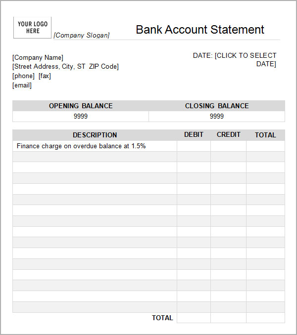 Bank Statement Of Account Filename – my college scout