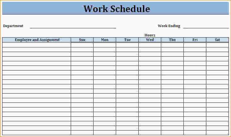 Breathtaking image with printable work schedule