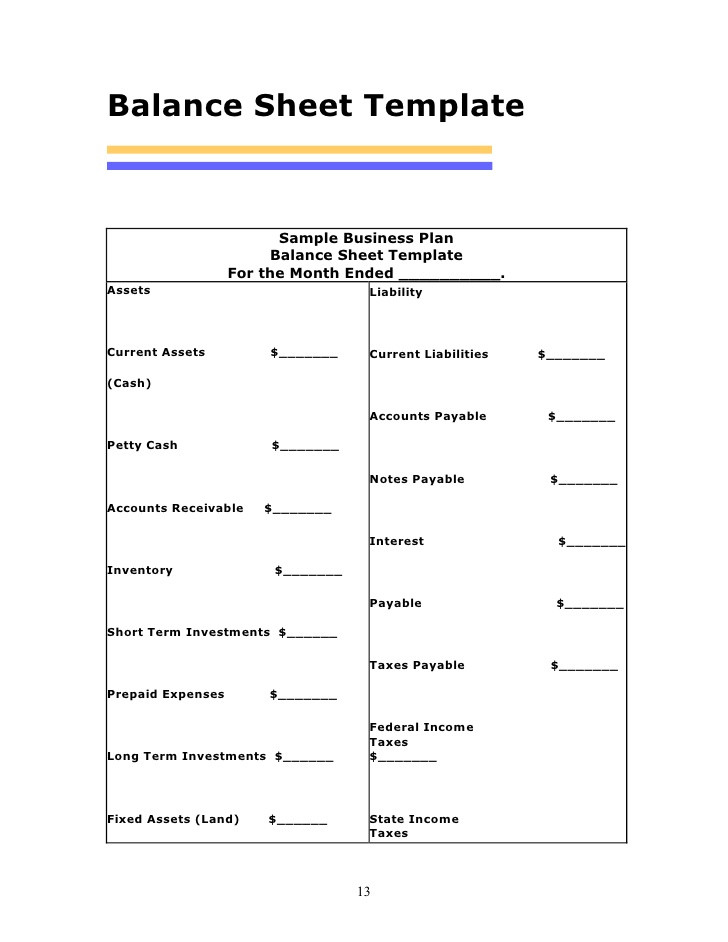 Cash Balance Sheet Template Filename – my college scout