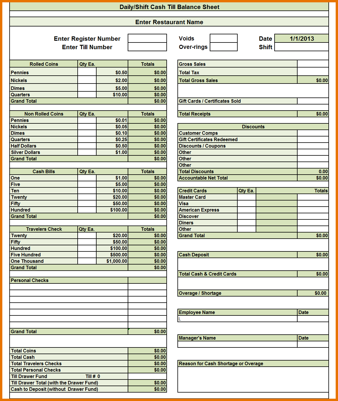 balance sheet template profit and loss statement template income
