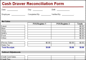 petty cash reconciliation form template petty cash reconciliation