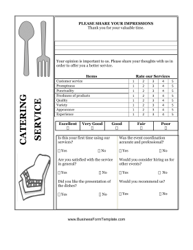 Catering Form Template | charlotte clergy coalition
