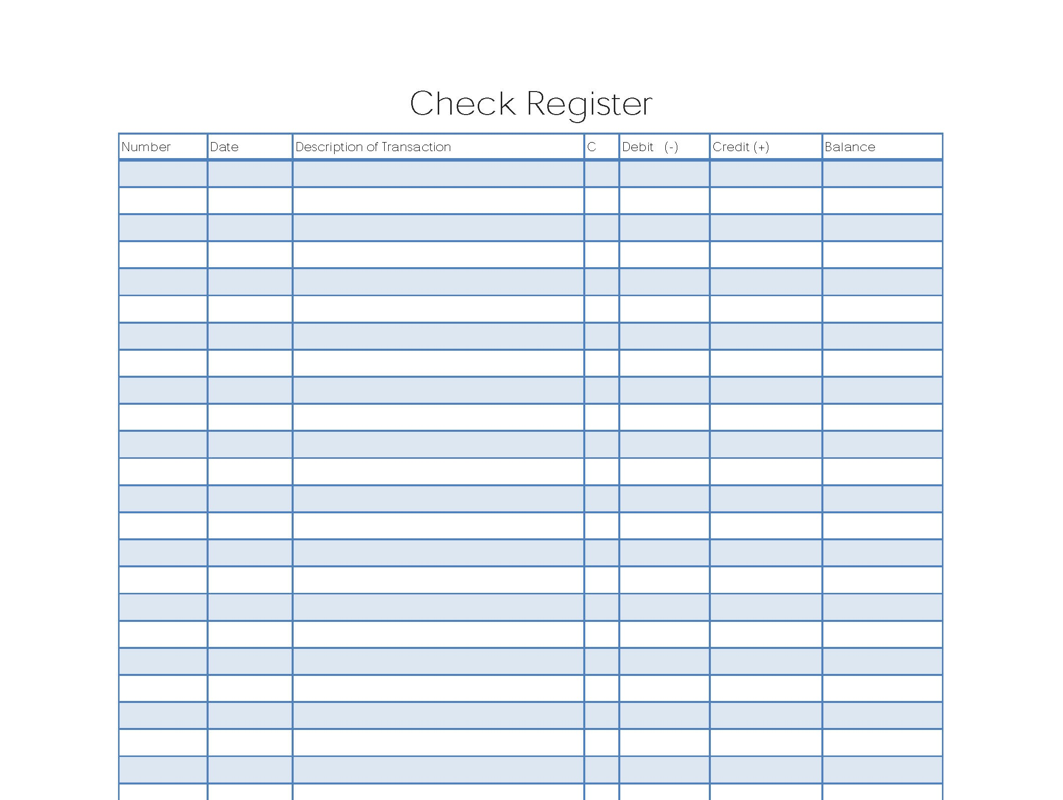 Check register template printable charlotte clergy coalition 37 checkbook register templates 100 free printable template lab cheaphphosting Choice Image