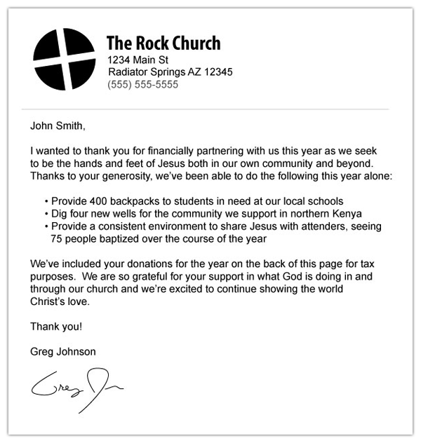 Church donation letter for tax purposes template charlotte clergy how to make an awesome or terrible end of year donation receipt altavistaventures
