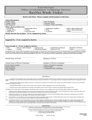 Computer Repair Form   Fill Online, Printable, Fillable, Blank
