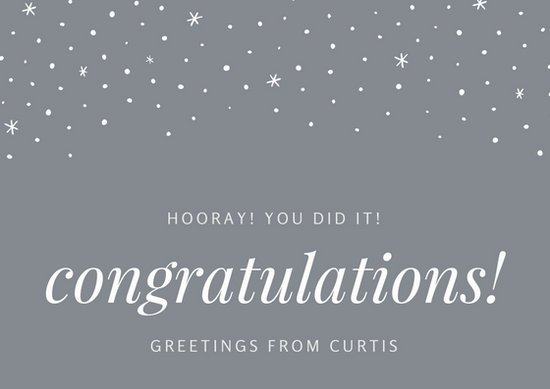 Professional Congratulations Email Templates, Business Email