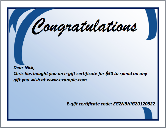 congratulations certificate word template congratulations