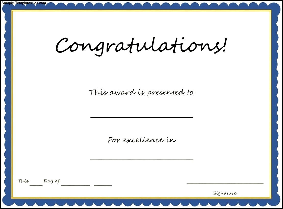 congratulations awards templates   Kleo.beachfix.co