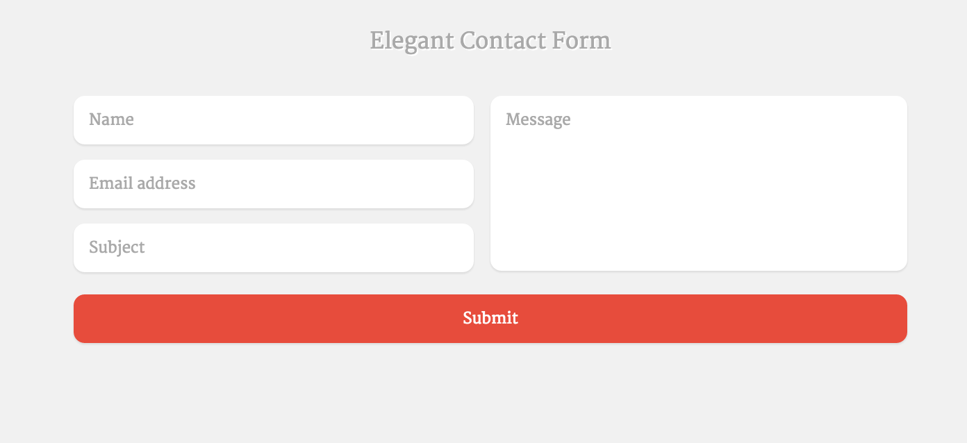 contact form template   Kleo.beachfix.co