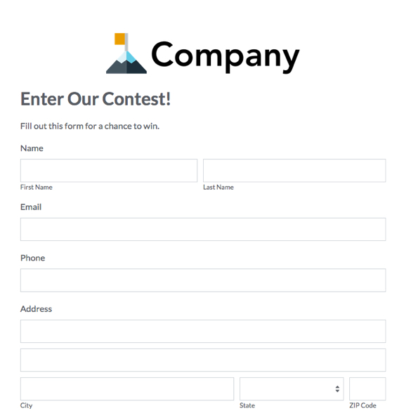 contest entry form template word ballot entry template contest