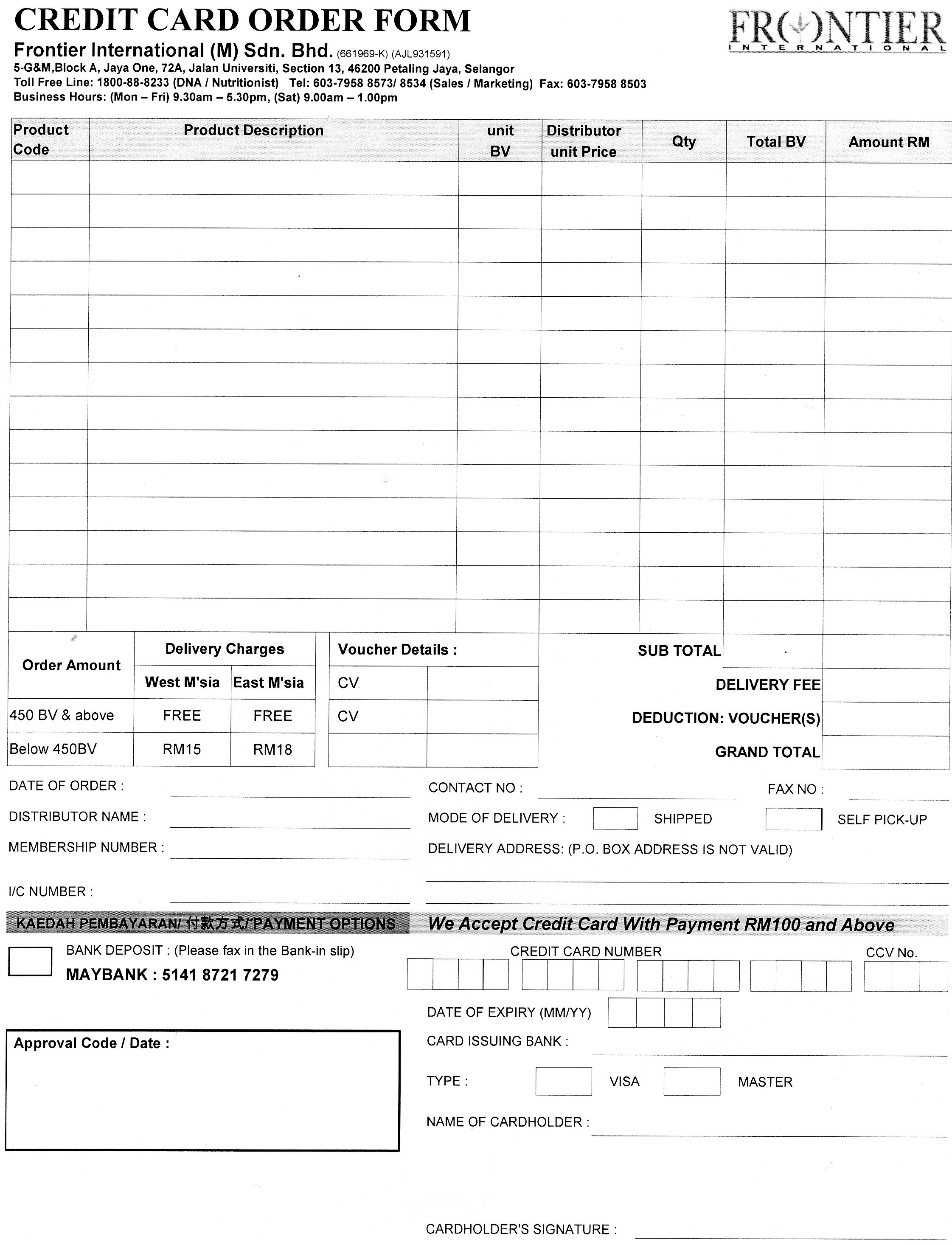 Credit card order form charlotte clergy coalition credit card order form friedricerecipe Image collections