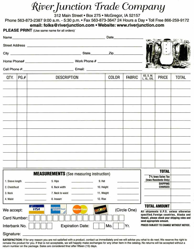 Credit Card Order Form | charlotte clergy coalition
