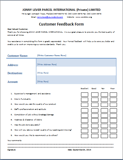 customer report template   Tier.brianhenry.co