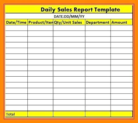 daily report excel   Gecce.tackletarts.co