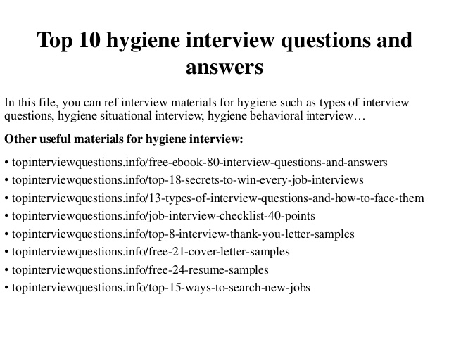 Dental Hygienist interview questions   YouTube