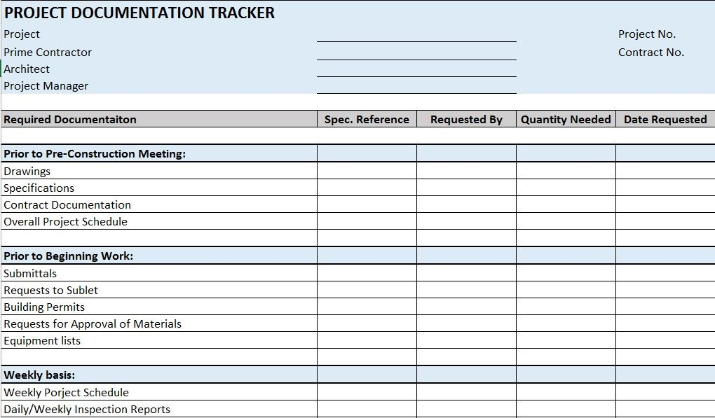 document tracker excel template   April.onthemarch.co