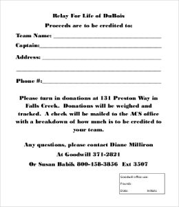 list amounts for household items clothing, receipt envelope, on tax deductible donation letter template