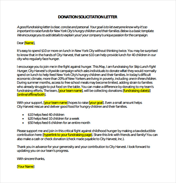 Letter asking for Donations Template Best Of Donation form Free