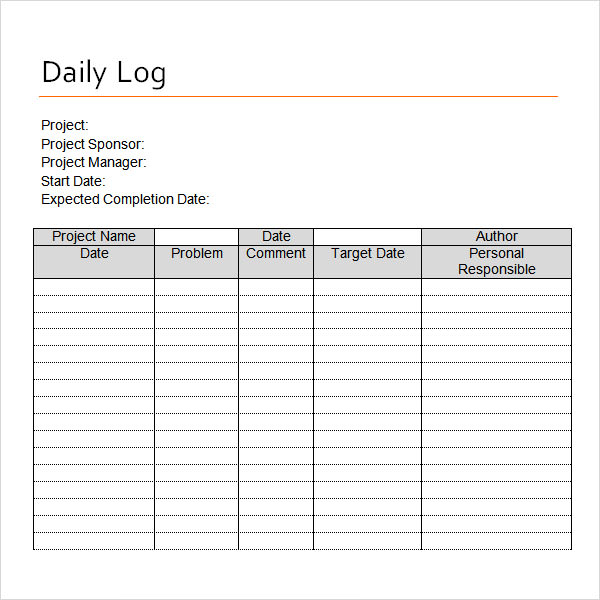 driver daily log sheet charlotte clergy coalition
