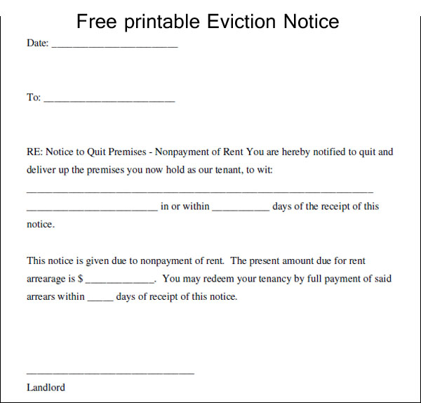 Eviction notice template charlotte clergy coalition letter of eviction template uk copy 4 eviction notice template uk thecheapjerseys Choice Image