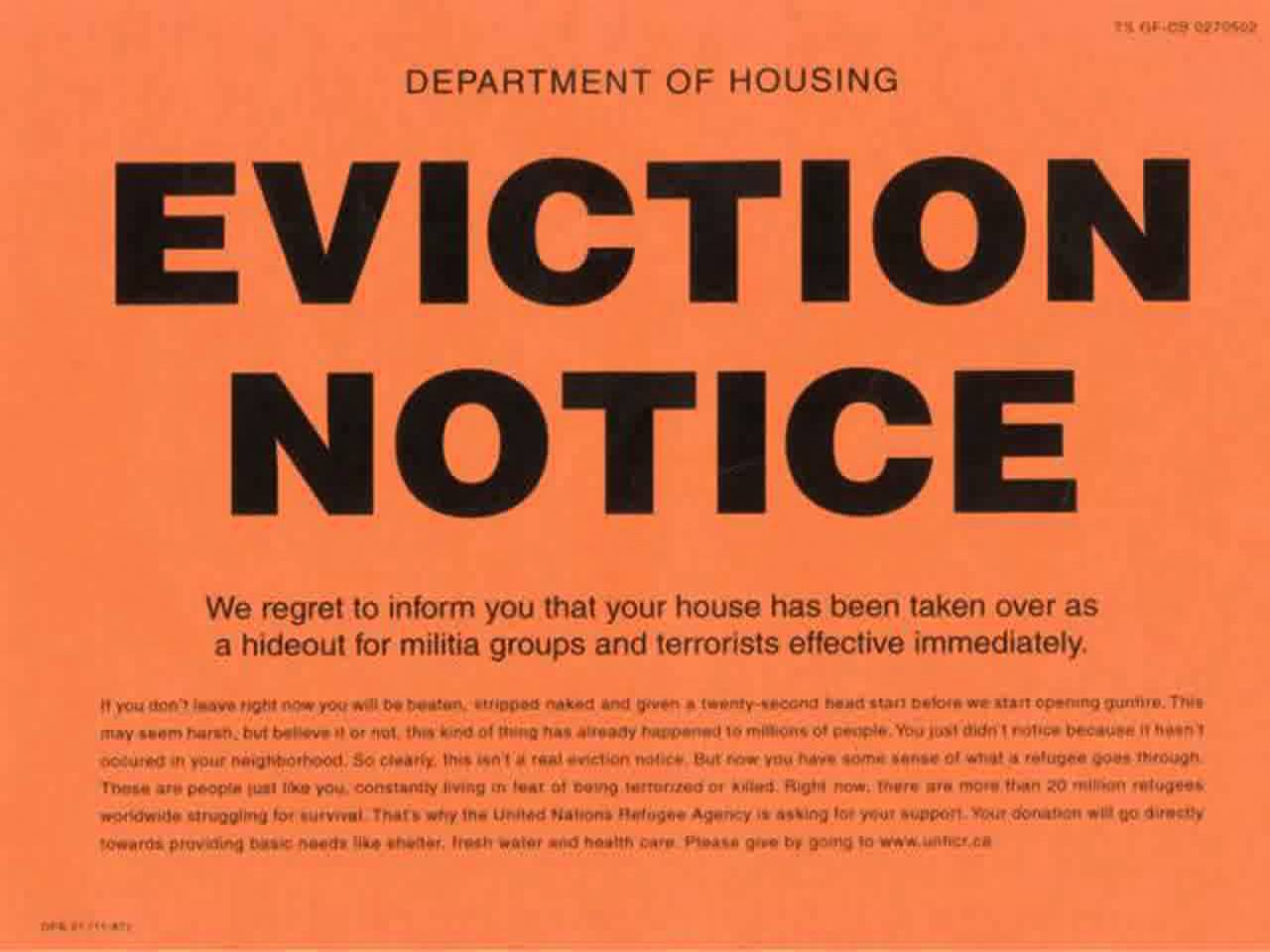Free Eviction Notice Template 8 – lafayette dog days