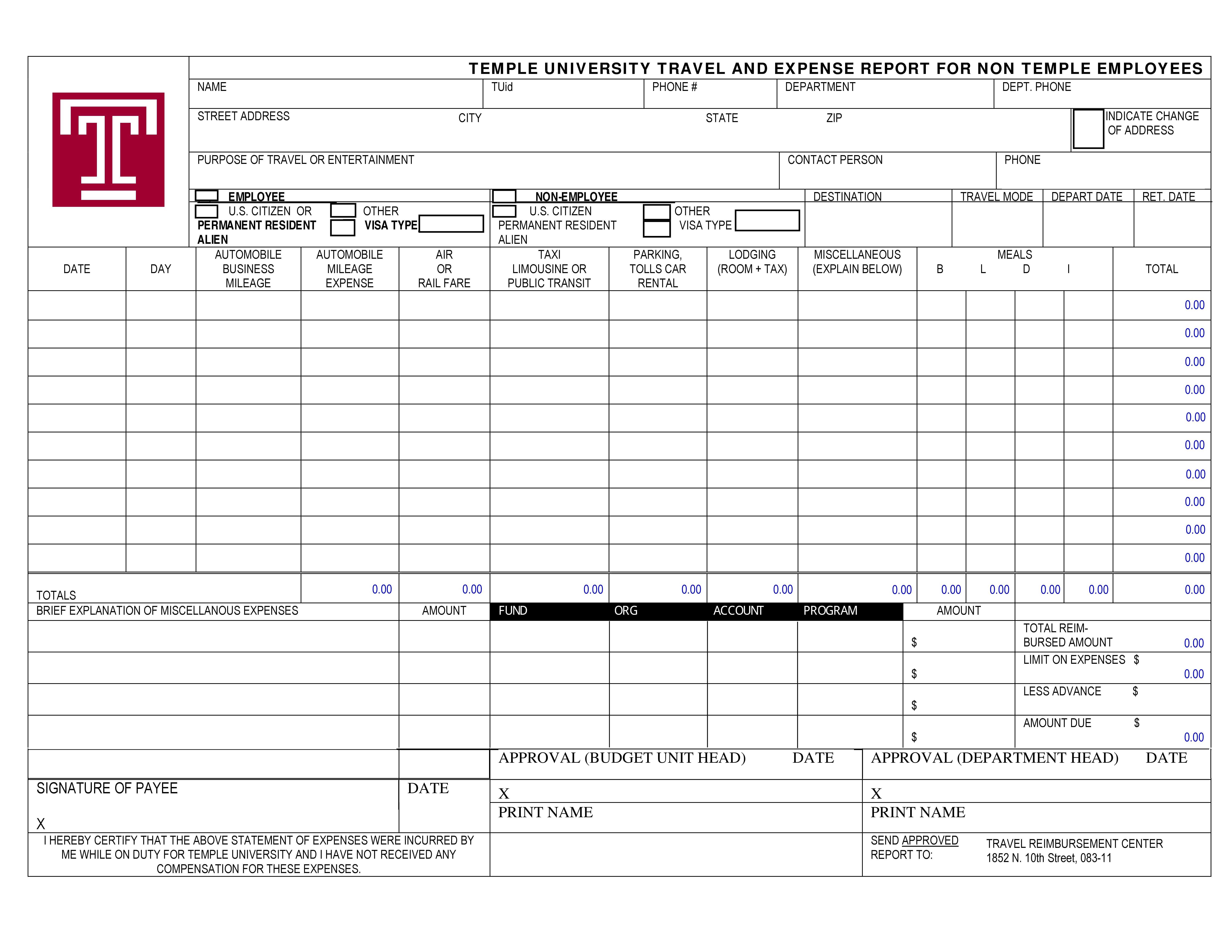 expense-report-sample-expense-report-template-41 Sample Expense Report Guidelines on healthcare revenue, completed business, for reimbursement, yearly total, business income, quicken income,