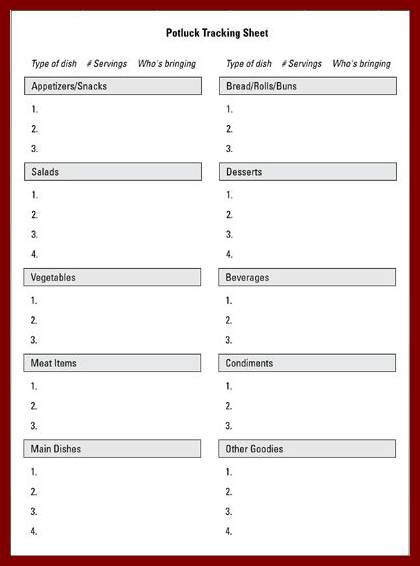 microsoft template sign up sheet