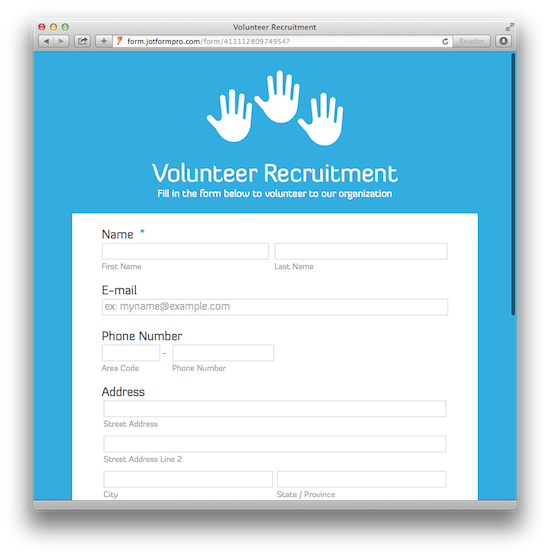 Form Template | charlotte clergy coalition