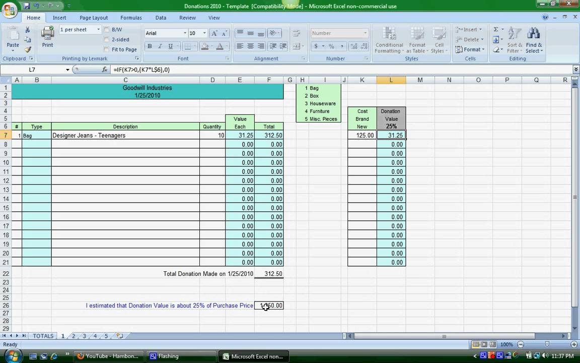 church tithe and offering spreadsheet free templates | Natural