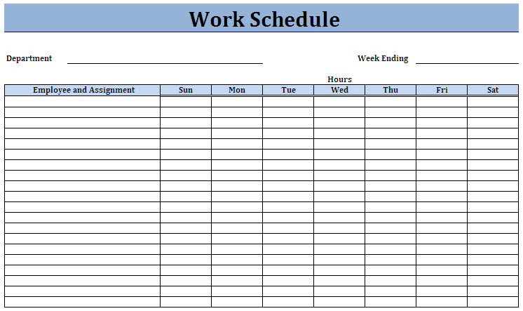 free employee work schedule charlotte clergy coalition