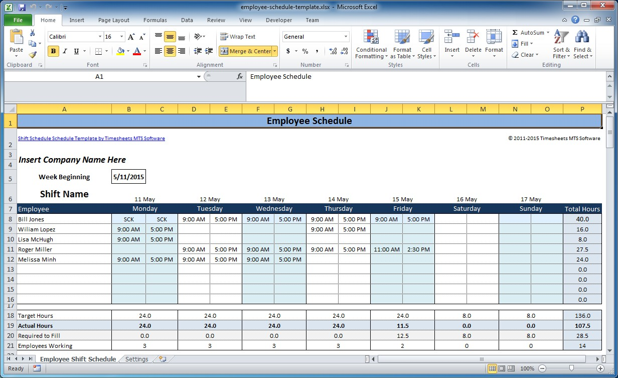 schedule employees free   April.onthemarch.co