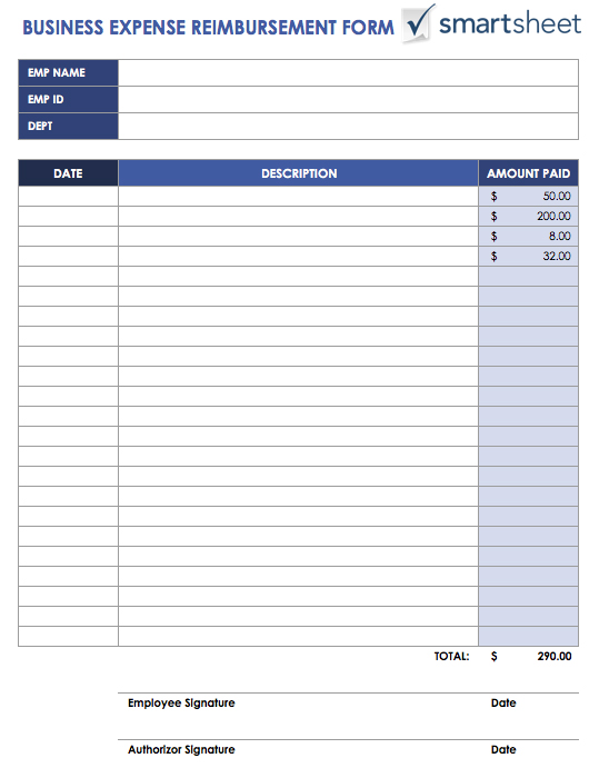 expense form template free   April.onthemarch.co
