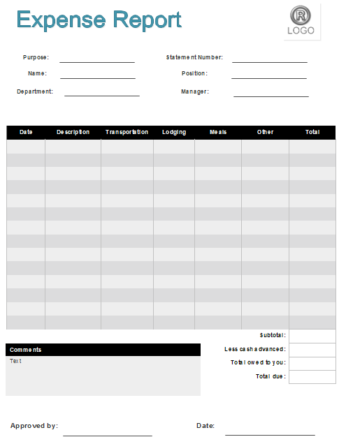 expense report template pdf   Tier.brianhenry.co