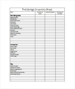 free inventory spreadsheet template charlotte clergy coalition