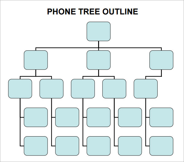 4 Sample Phone Tree Templates to Download | Sample Templates