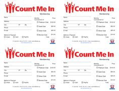 pledge cards for churches | Pledge Card Templates | My stuff