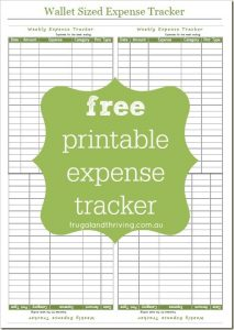 free printable expense tracker charlotte clergy coalition