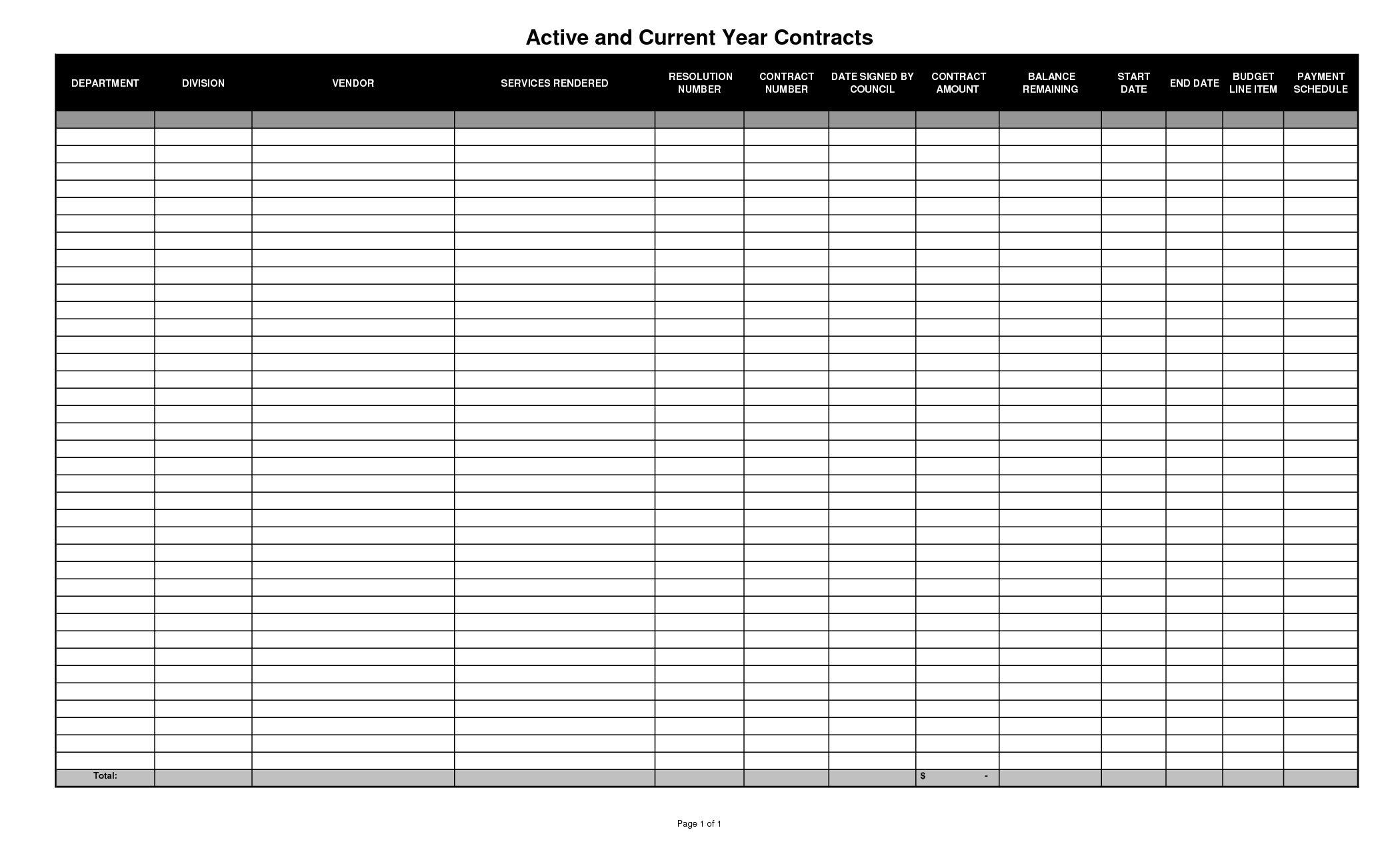Free Blank Spreadsheet Template download   SampleBusinessResume