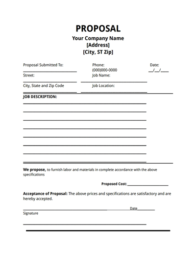 free blank proposal forms   April.onthemarch.co