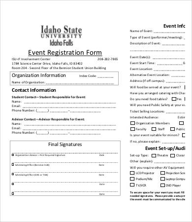sign up form template free download   Gecce.tackletarts.co