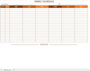free weekly employee work schedule template charlotte clergy coalition