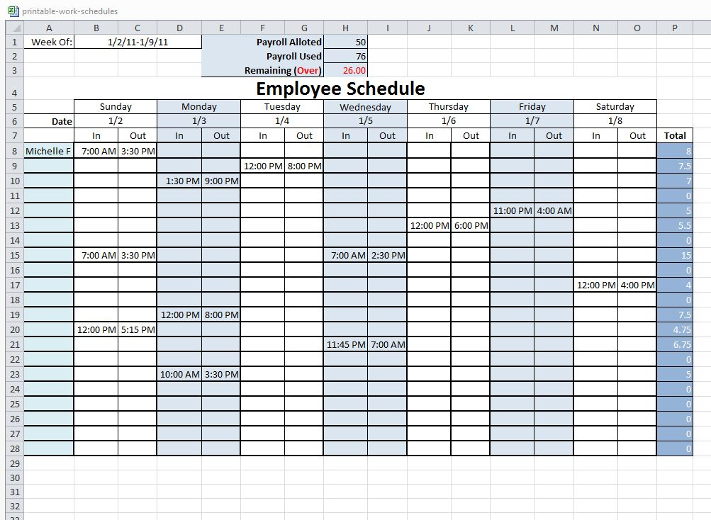 free work schedule charlotte clergy coalition