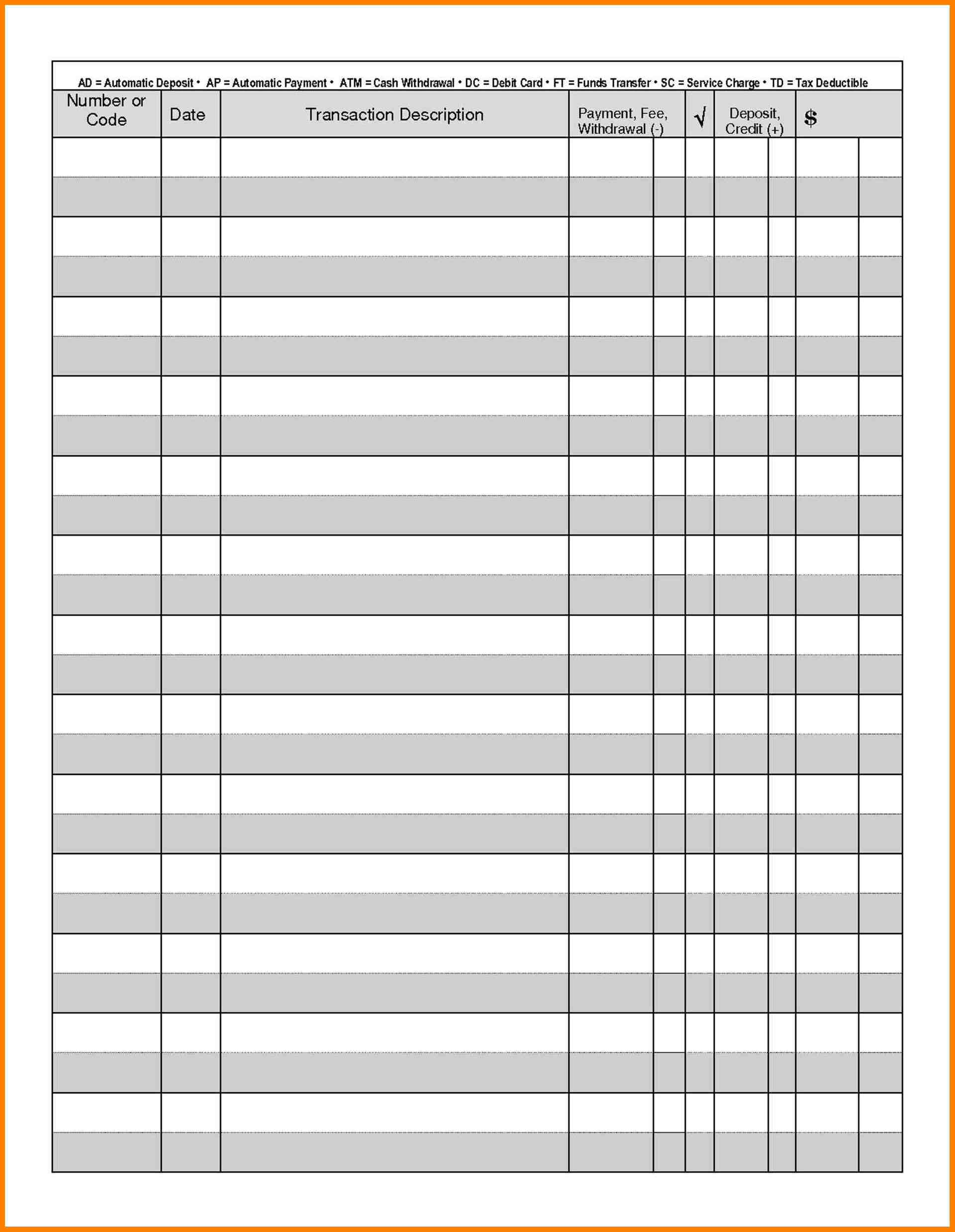 Full page check register charlotte clergy coalition business forms templates for ideal business administration free friedricerecipe Choice Image