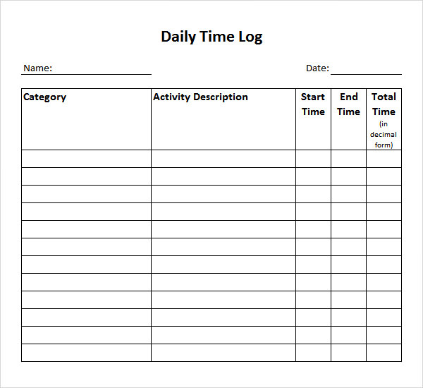tracking hours template   Tier.brianhenry.co
