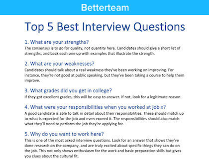 Hotel housekeeper interview questions