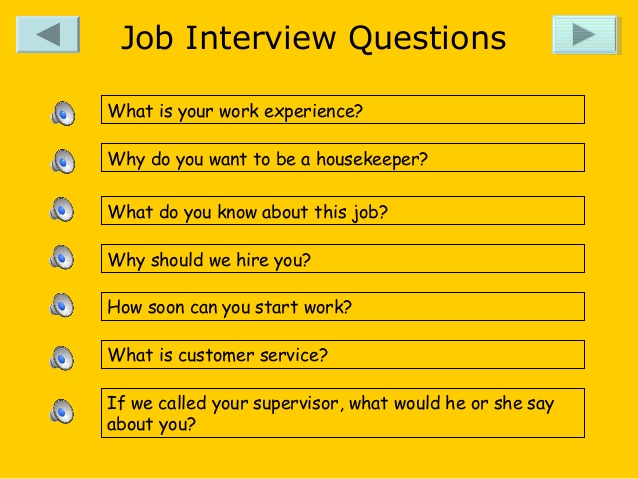 Supervisor Housekeeping interview questions   YouTube